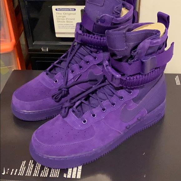 Nike Shoes | Nike Sf Af Court Purple